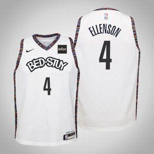 Women Brooklyn Nets Henry Ellenson City Jersey